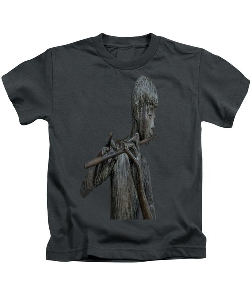 The Flute Player Kids T-Shirt