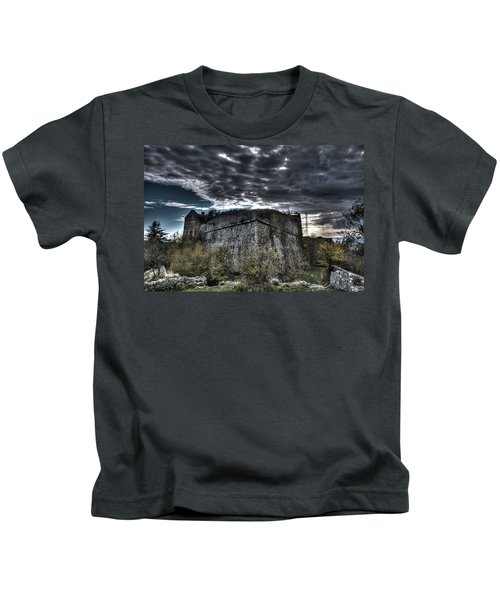 The Fortress The Trees The Clouds Kids T-Shirt