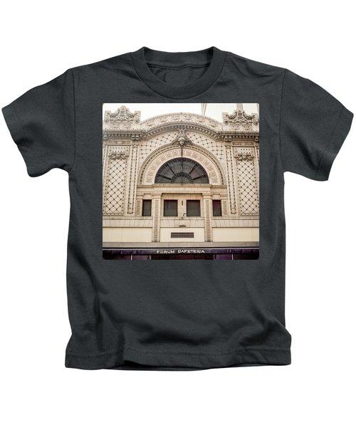 The Forum Cafeteria Facade Kids T-Shirt