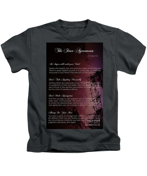 The Four Agreements 3 Kids T-Shirt