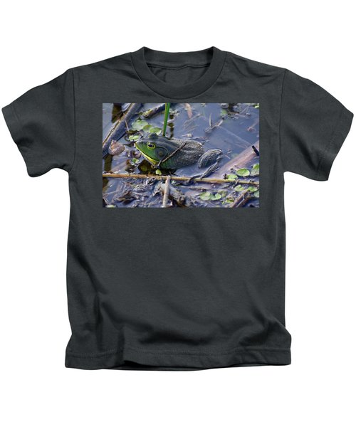 The Frog Remains Kids T-Shirt