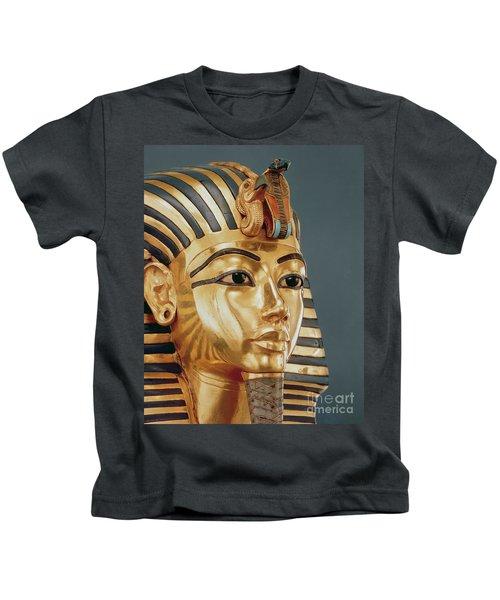 The Funerary Mask Of Tutankhamun Kids T-Shirt