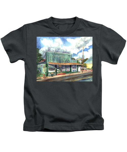 The Garcia Building Kids T-Shirt