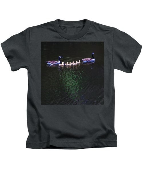 The Goslings On The River Kids T-Shirt