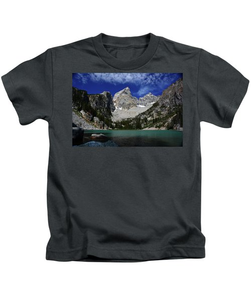 The Grand And Mount Owen From Delta Lake Kids T-Shirt