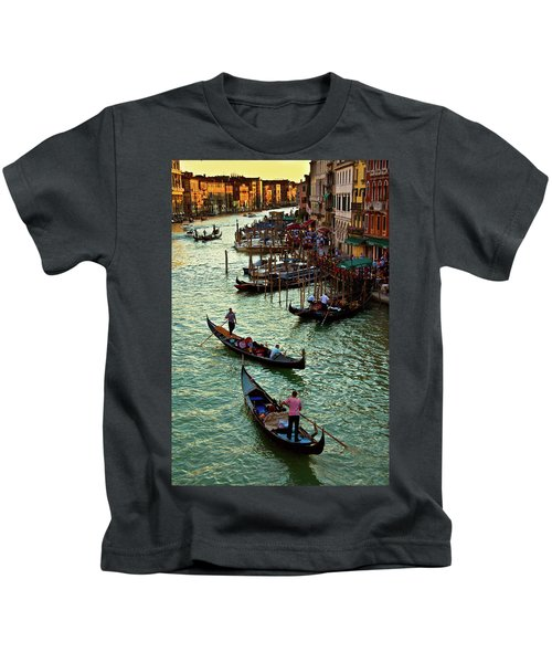 The Grand Canal Venice Kids T-Shirt