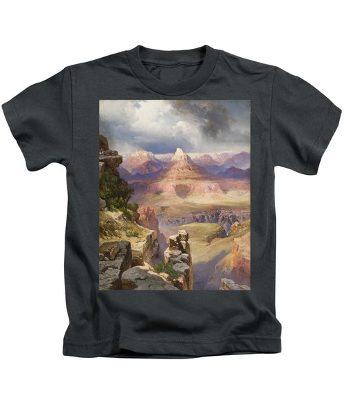 The Grand Canyon Kids T-Shirt by Thomas Moran
