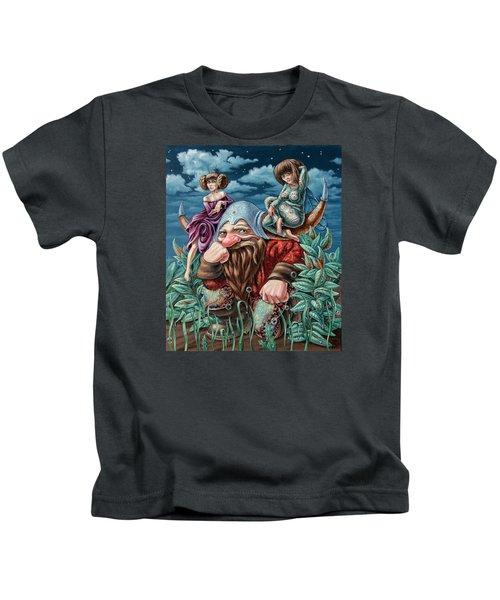 The Great Horns Kids T-Shirt