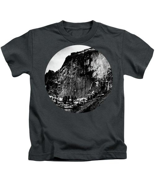 The Great Wall, Black And White Kids T-Shirt by Adam Morsa