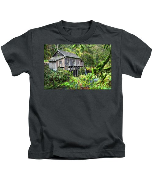 The Grist Mill, Amboy Washington Kids T-Shirt
