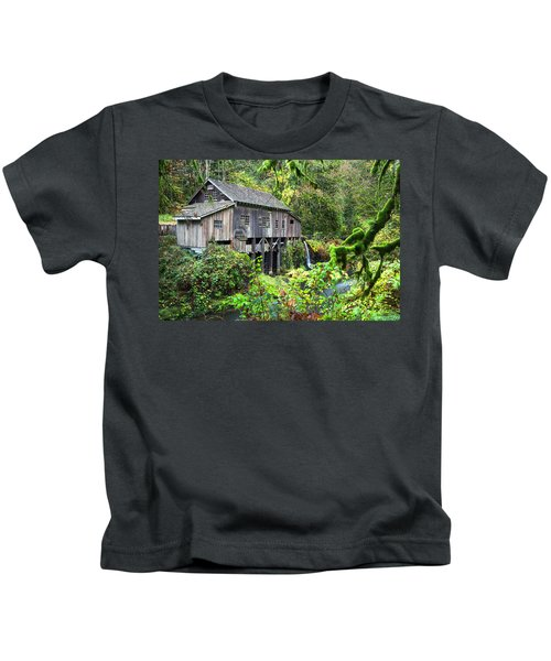 The Grist Mill, Amboy Washington Kids T-Shirt