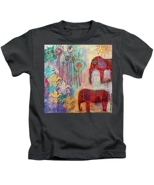 The Guardians Of Night And Day Kids T-Shirt