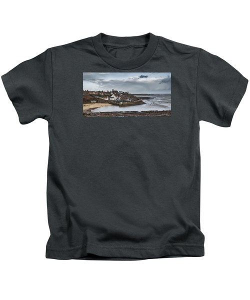 The Harbour Of Crail Kids T-Shirt