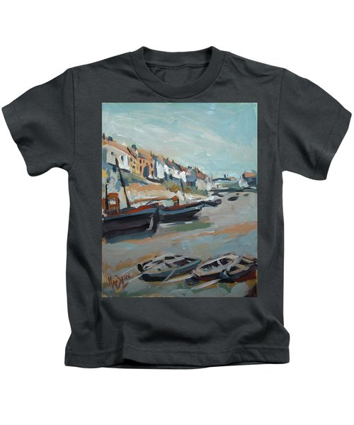 The Harbour Of Mevagissey Kids T-Shirt