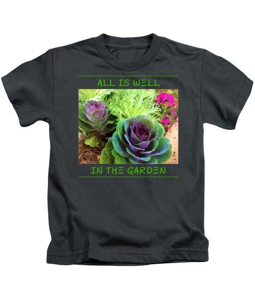 The Healing Garden Kids T-Shirt by Korrine Holt