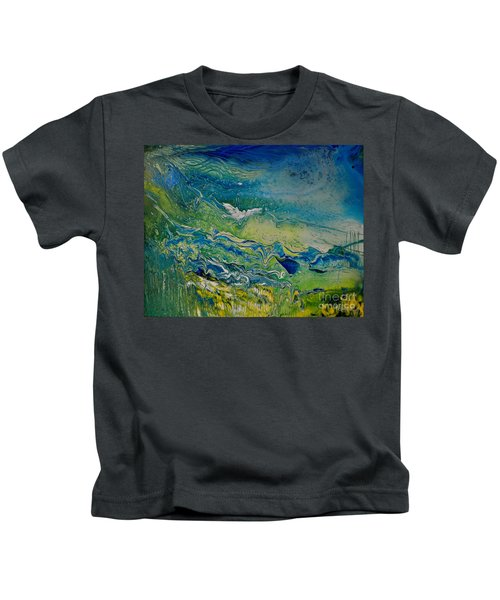 The Heavens And The Eart Kids T-Shirt