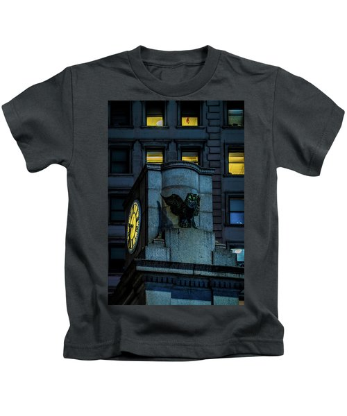 The Herald Square Owl Kids T-Shirt
