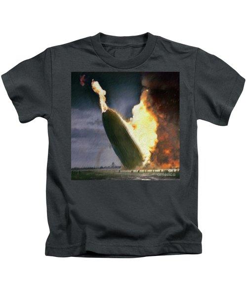 The Hindenburg Disaster Kids T-Shirt