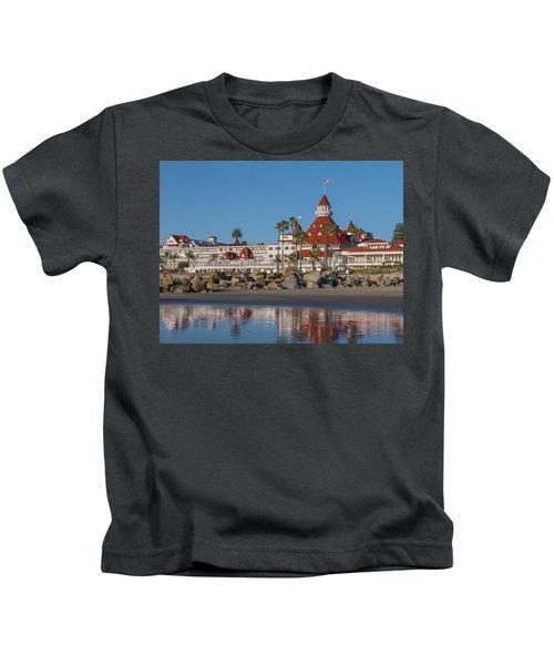The Hotel Del Coronado Kids T-Shirt
