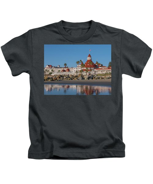 The Hotel Del Coronado Kids T-Shirt
