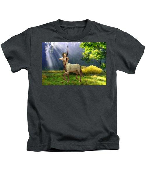 The Hunter Kids T-Shirt by John Edwards