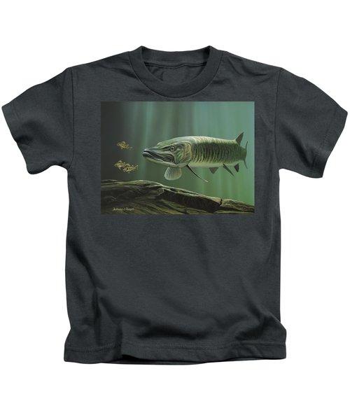 The Hunter - Musky Kids T-Shirt