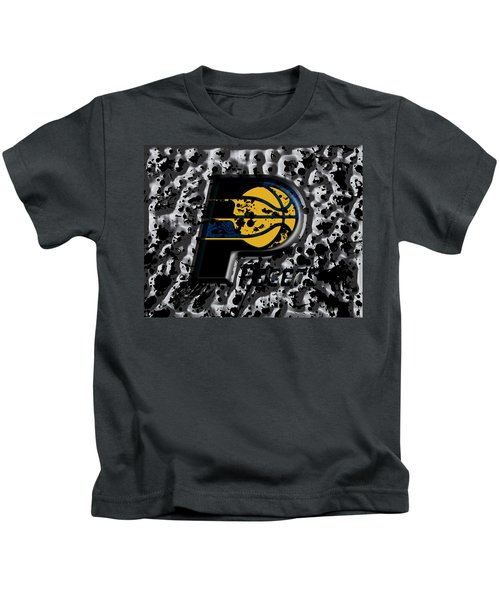 The Indiana Pacers Kids T-Shirt by Brian Reaves