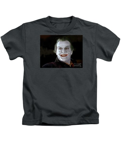 The Joker Kids T-Shirt by Paul Tagliamonte