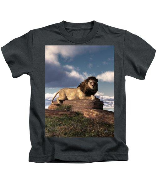 The Lazy Lion Kids T-Shirt
