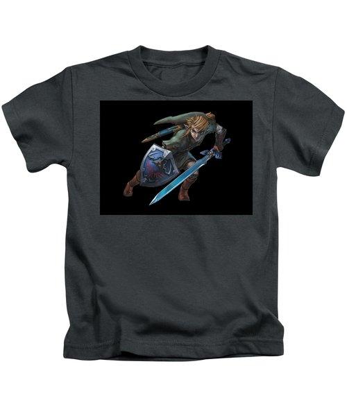 The Legend Of Zelda Twilight Princess Kids T-Shirt