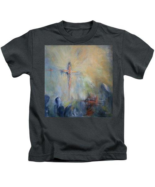 The Light Of Christ Kids T-Shirt