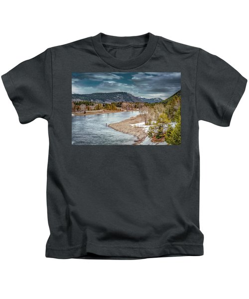 The Little Fisherman Kids T-Shirt