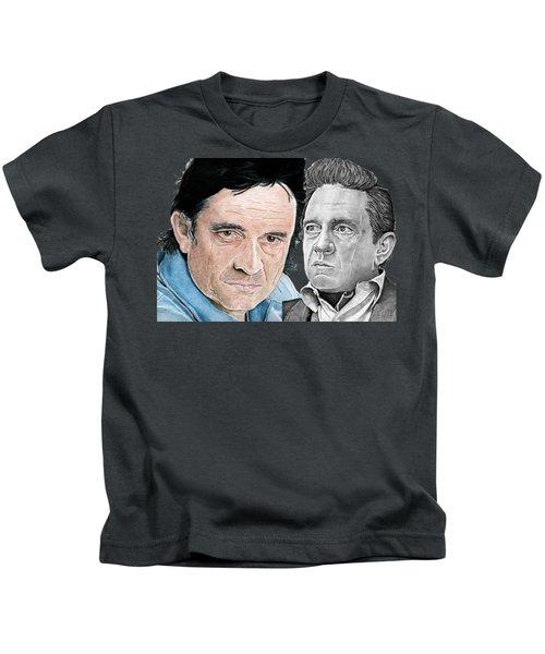 The Man In Black Kids T-Shirt