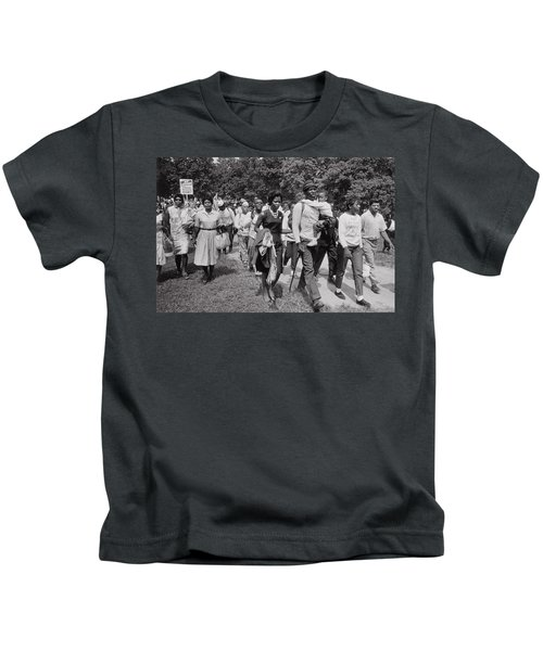 The March On Washington  Freedom Walkers Kids T-Shirt