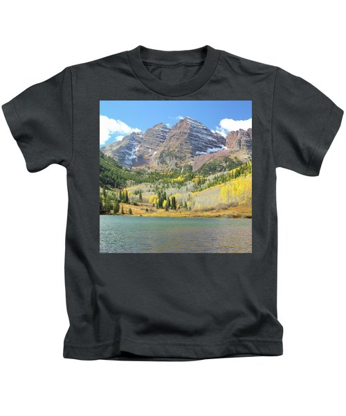 The Maroon Bells 2 Kids T-Shirt