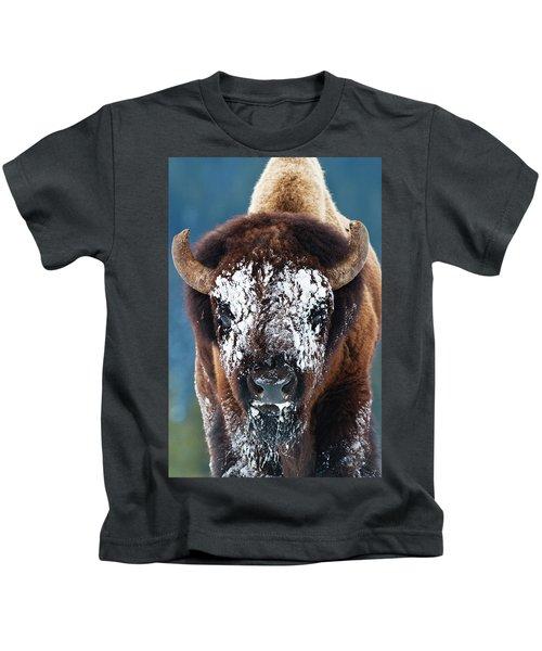 The Masked Bison Kids T-Shirt