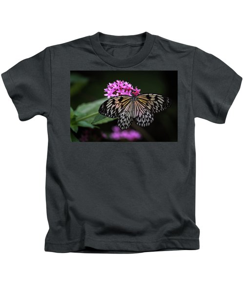 The Master Calls A Butterfly Kids T-Shirt