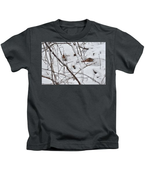 The Maternal Instinct Of The American Woodcock Kids T-Shirt