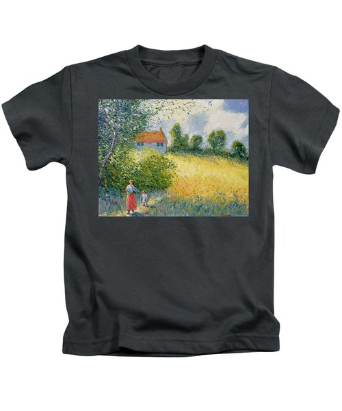 The Meadow Path  Kids T-Shirt