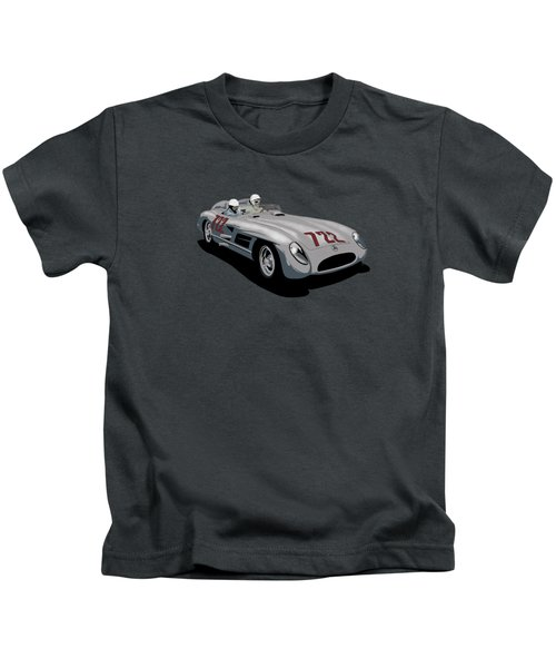 The Mille Miglia 1954 To 1957 Kids T-Shirt