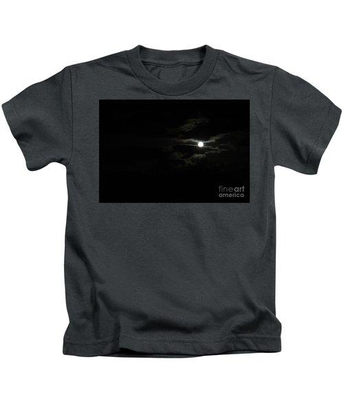 The Moon In Between Kids T-Shirt