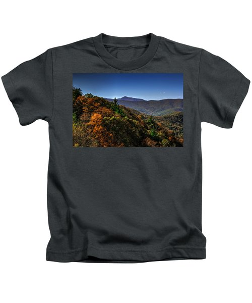 The Mountains Win Again Kids T-Shirt