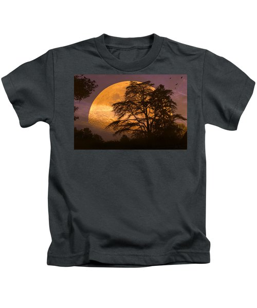 The Night Is Calling Kids T-Shirt