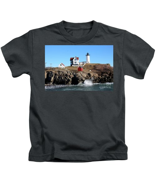 The Nubble Lighthouse  Kids T-Shirt