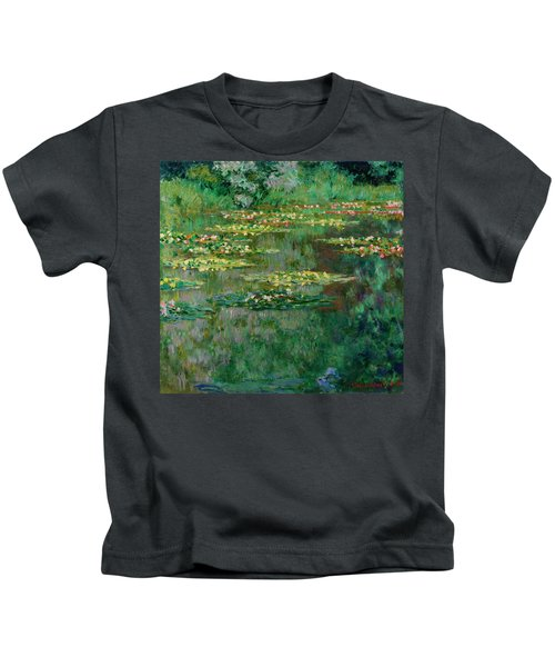 The Nympheas Basin Kids T-Shirt