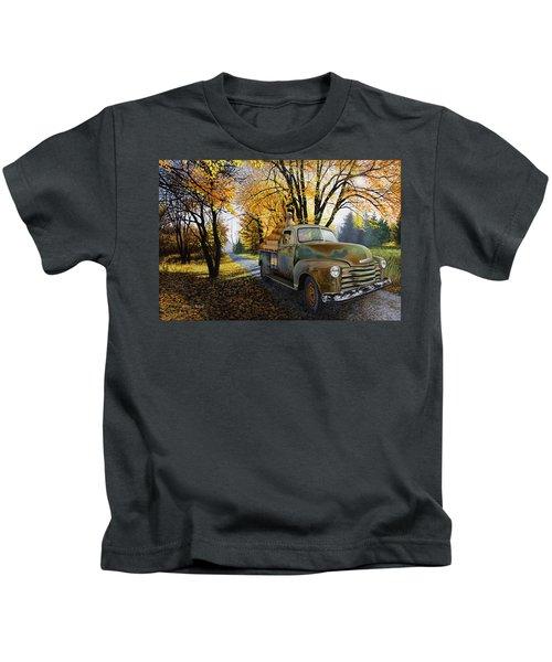 The Ol' Pumpkin Hauler Kids T-Shirt