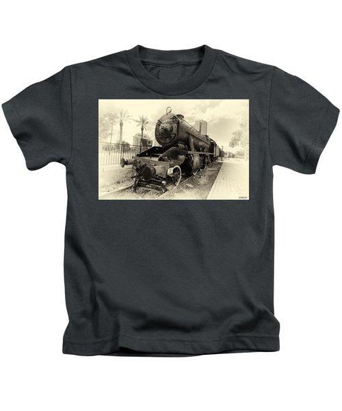 The Old Locomotive Kids T-Shirt