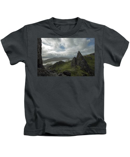 The Old Man Of Storr Kids T-Shirt
