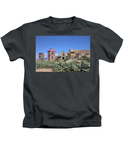 The Old Western Town  Kids T-Shirt