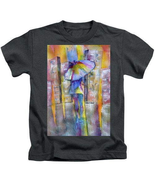 The Other Girl In The City Kids T-Shirt